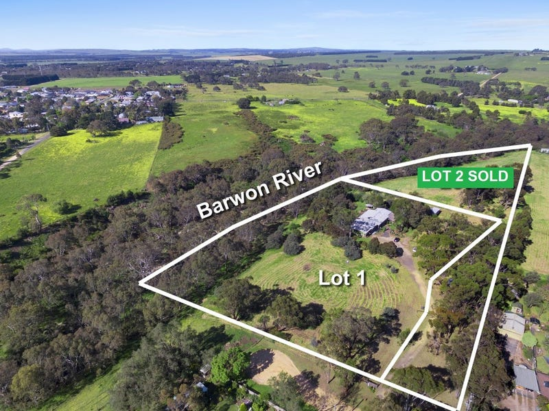Lot 1 & Lot 2, 40 Richmonds Lane, Winchelsea, Vic 3241
