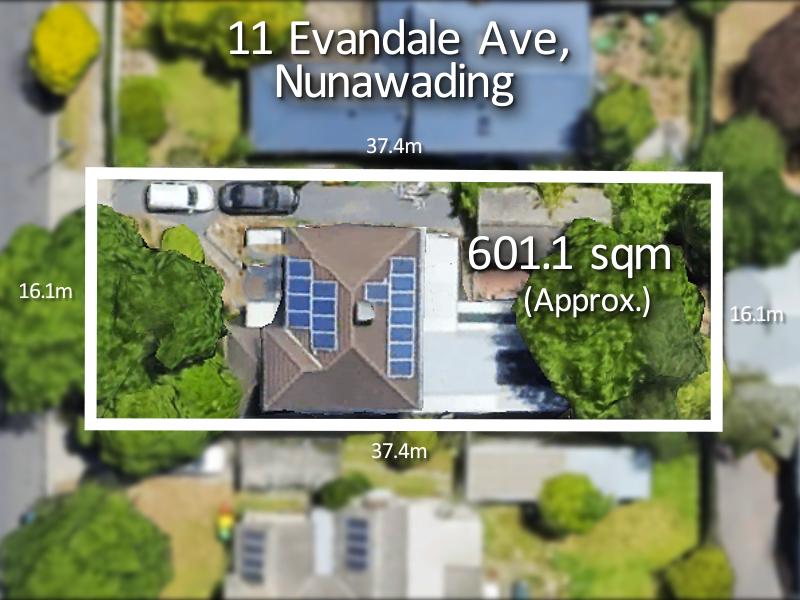 11 Evandale Avenue, Nunawading, Vic 3131