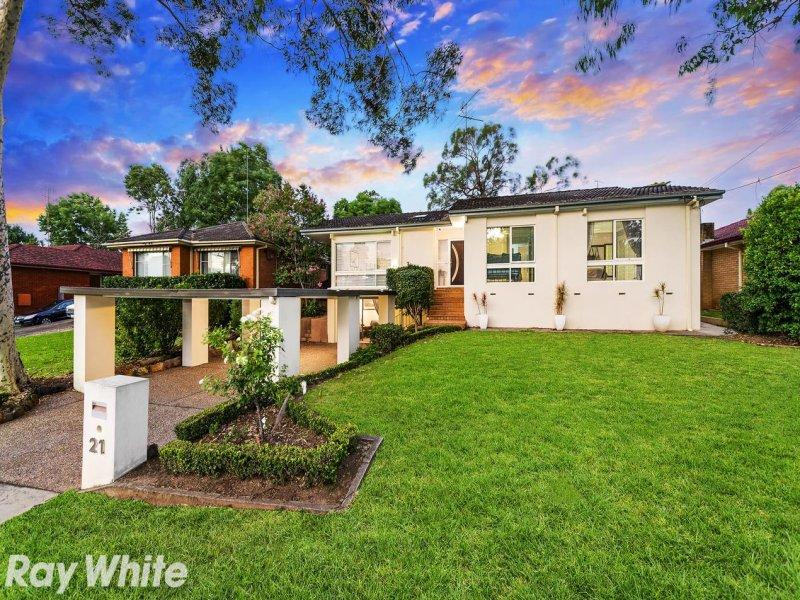 21 Boonal Street, Baulkham Hills, NSW 2153