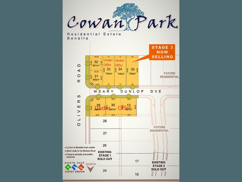Stage 3 Cowan Park, Benalla, Vic 3672