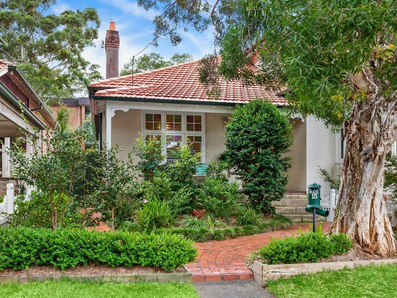 15 Melrose Street, Mosman, NSW 2088