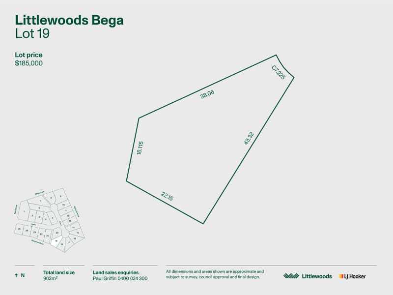 Lot 19 Littlewood Estate, Bega, NSW 2550