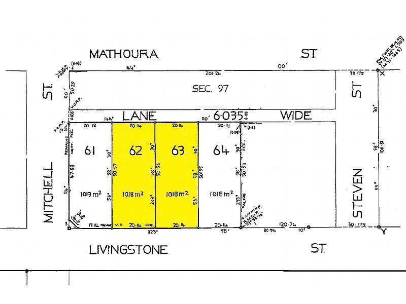 Lot 62 & 63, 2 B & C Livingstone Street, Mathoura, NSW 2710