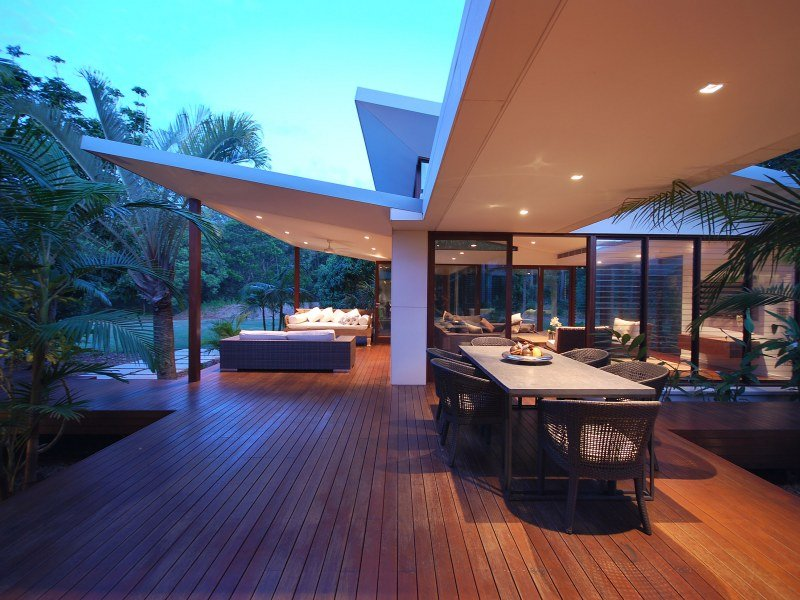 Outdoor living design with verandah from a real Australian ... on Ab And Outdoor Living id=35363