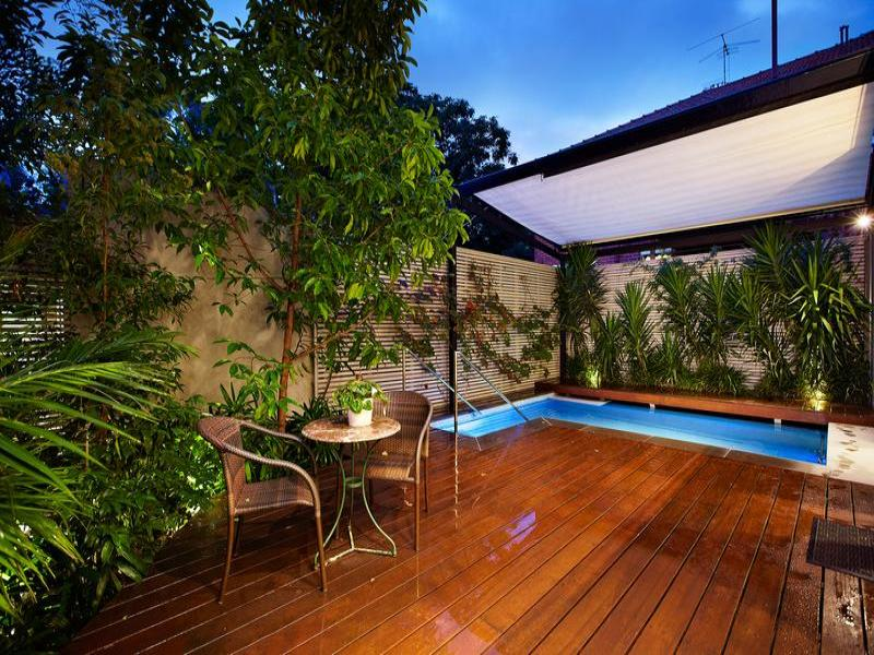 Outdoor living design with pool from a real Australian ... on Pool And Outdoor Living id=15679