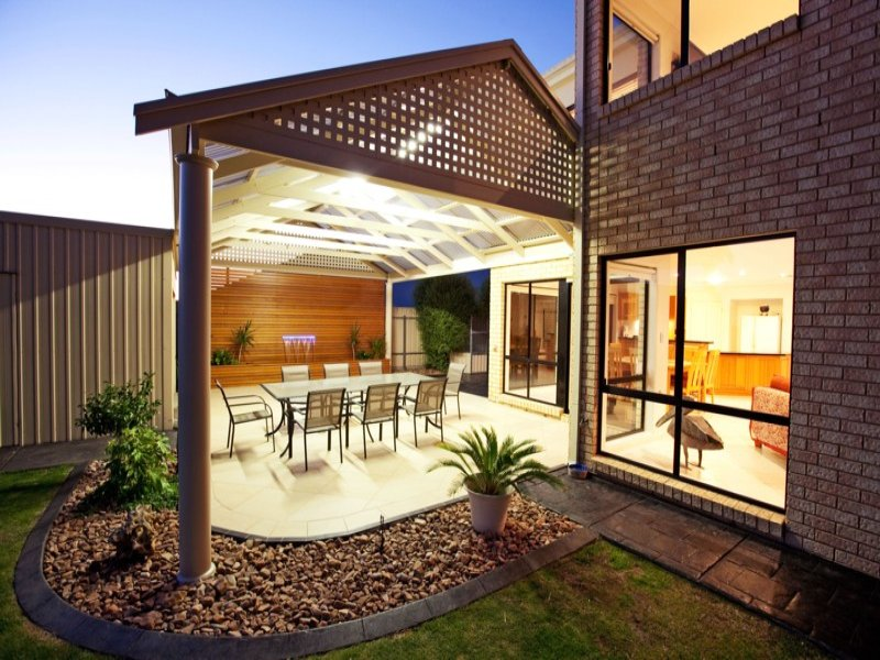 Outdoor living design with pergola from a real Australian ... on Aust Outdoor Living id=91633