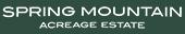 Spring Mountain Acreage Estate